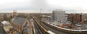 New Brunswick station - Northeast Corridor at New Brunswick looking Northeast