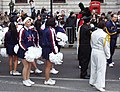 New Year Parade - cheerleaders in Great George Street - geograph.org.uk - 1103600.jpg
