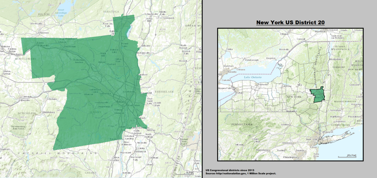 New York\'s 20th congressional district - Wikipedia