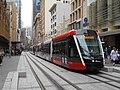 New trams operating in George street Sydney CBD - late December 2019 - 49281061742.jpg
