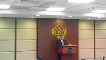 File:News conference of MOJ (Taiwan) about execution of Cheng Chieh's capital punishment.webm