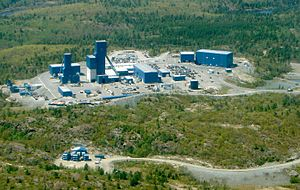 Nickel Rim South Mine, near Sudbury, Ontario, ...