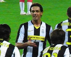 Nicola Legrottaglie - Legrotagglie playing for Juventus in 2008