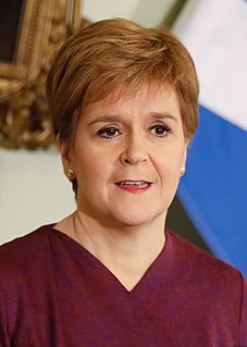 Nicola Sturgeon First Minister of Scotland, Leader of the Scottish National Party