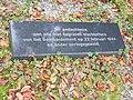 Nijmegen begraafplaats Daalseweg, monument slachtoffers 22-02-44 e.o., gedenksteen.JPG