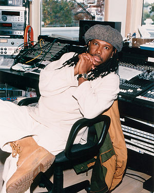 Nile Rodgers - Nile Rodgers at his Le Crib Studios, 1999