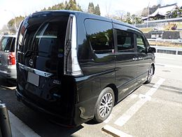 Nissan SERENA HIGHWAY STAR S-HYBRID (C26) rear.JPG