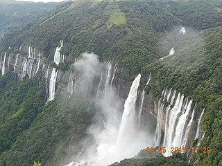 Meghalaya State in north-eastern India