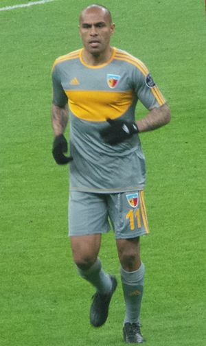 Márcio Nobre - Nobre playing for Kayserispor in 2014