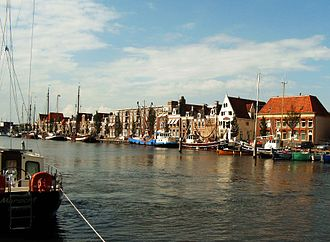 Harlingen, Netherlands - Zuiderhaven harbour, Harlingen