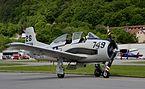 North American T-28, Flughallenfest Vilshofen a.d. Donau.JPG