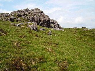 Knockboy - North ridge of Knockboy