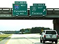Northbound Interstate 95 @ Interstate 20; Florence SC.jpg