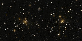 Abell catalogue - Northern part of galaxy cluster Abell 1758.