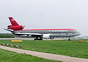 Northwest Airlines DC-10-30.