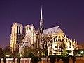 Notre Dame de Paris by night time.jpg