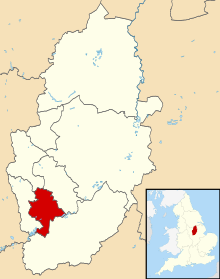 Nottingham UK locator map.svg