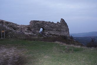 Novo Brdo Fortress - The ruins of the fortress of Novo Brdo