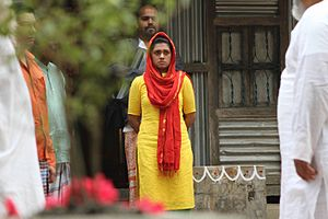 Nusrat Imrose Tisha - Tisha at Television (2012) film