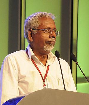 O. Abdurahman - O. Abdurahman in a public meeting.