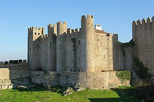 Beatrice of Castile (1293–1359) - Óbidos castle, given to Beatrice by her son Peter I of Portugal