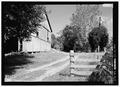Oblique view of east facade - Joseph Parks Farm, Barn, Sharpsburg, Washington County, MD HABS MD,22-SHARP.V,11-A-8.tif