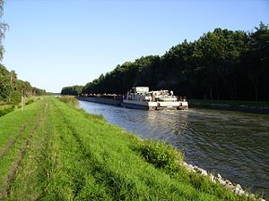 Oder–Havel Canal - Oder-Havel Canal near Eberswalde