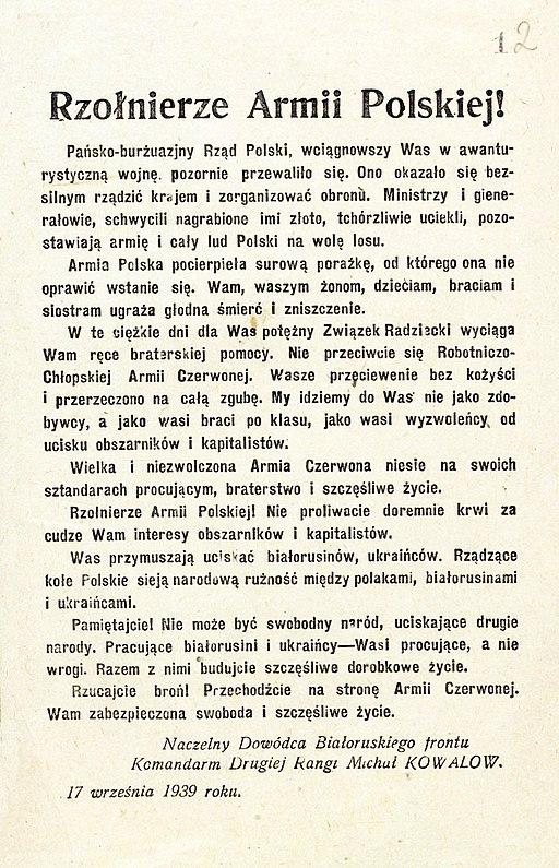 Odezwa sowiecka 1939 2