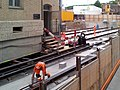 Oerlikon - 'Gleis 9' während der Gebäudeverschiebung 2012-05-22 19-00-47 ShiftN (GT-I9100).jpg