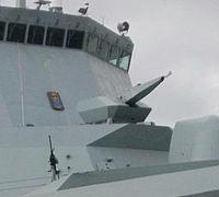 Oerlikon Millennium 35 mm Naval Revolver Gun Systems on HDMS Absalon (L16).jpg