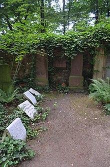 Grab von Johann André auf dem Alten Friedhof Offenbach (Quelle: Wikimedia)