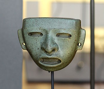 Offering mask - Teotihuacan civilisation - Royal Palace, Brussels.JPG