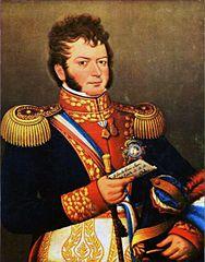 Retrato de O'Higgins por José Gil de Castro