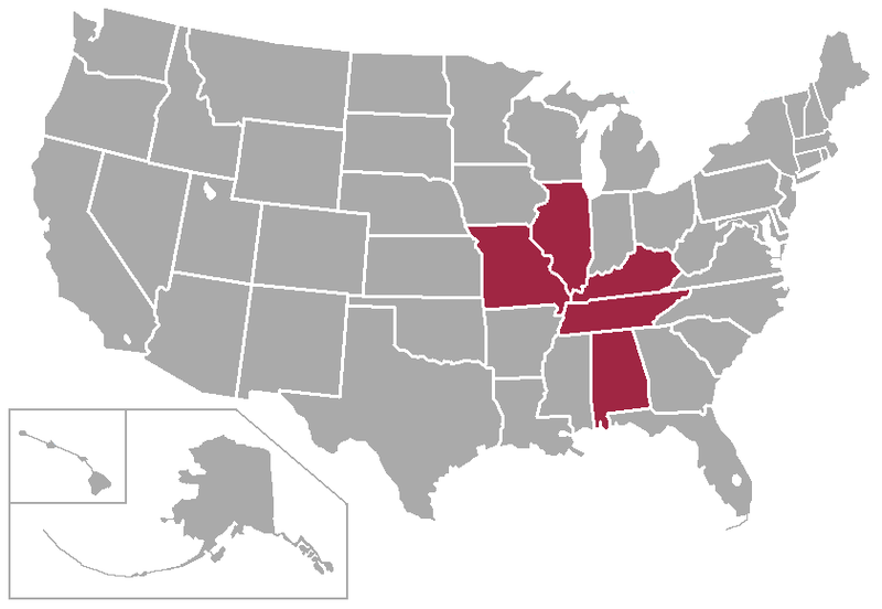 File:Ohio Valley Conference map.png - Wikimedia Commons