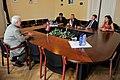 Ojāra Ērika Kalniņa tikšanās ar Ungārijas Ārlietu ministrijas valsts sekretāra vietnieku (9213200723).jpg