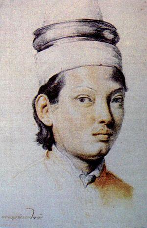 Ok-khun Chamnan - Ok-khun Chamnan in 1689, drawn by Carlo Maratta.