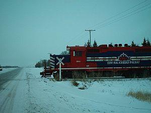 Central Kansas Railway - Image: Okanangan Valleyrailway GP10
