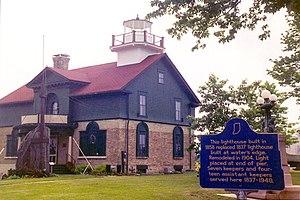 Old Michigan City Light - Old Michigan City Lighthouse