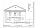 Old Courthouse, Queen Street between Fort and Bishop Streets, Honolulu, Honolulu County, HI HABS HI,2-HONLU,7- (sheet 5 of 8).png