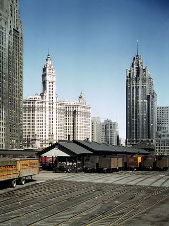 Lakeshore East - Image: Old Illinois Central Yard Restored