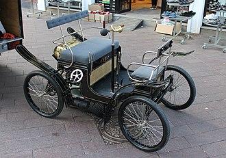 Brems (automobile) - The picture shows a newly built copy 2012.