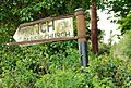 Old sign near Downpatrick - geograph.org.uk - 1291456.jpg