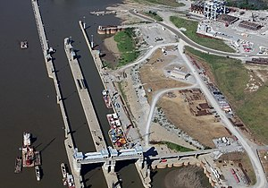 United States Army Corps of Engineers - Olmsted Locks and Dam has been under construction for over 20 years under the US Army Corps of Engineers watch.