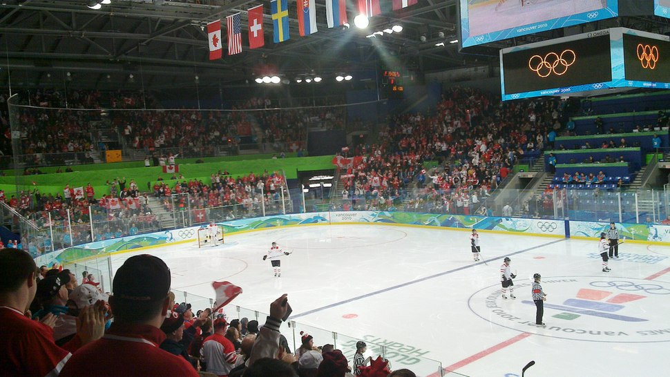 Olympic Hockey at UBC