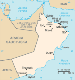 Oman CIA map PL.png