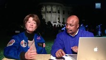 ملف:Open for Questions with Astronaut Sally Ride.webm