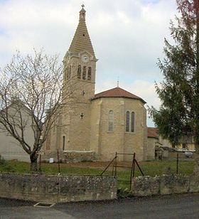 église du village