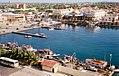 Oranjestad, Aruba - Inner Harbor from Ship (3890470998).jpg