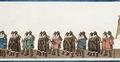 Ordnarnas härolder och riddare i Karl XIV Johans begravningståg, 1844 - Livrustkammaren - 108767.tif