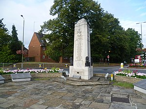 Orpington - Image: Orpington War Memorial